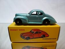 DINKY TOYS ATLAS 24O STUDEBAKER COUPE - METALLIC BLUE 1:43 - MINT IN BOX