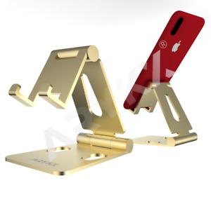 Adjustable Phone Stand Holder Aluminum Cell Phone Desk Mount Cradle Universal