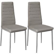 2x Chaise de salle à manger ensemble salon design chaises cuisine neuf gris