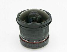 Samyang F3.5/8mm UMC Fish Eye CS II Lens For Canon