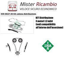 KIT Catena Distribuzione INA x motori 1.3 mjtd FIAT - Alfa Romeo - Lancia