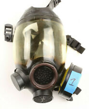 Msa Gas Mask Md Full Face Respirator Mask 7 1293 1with Filter