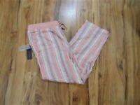Women's Tommy Hilfiger Linen Striped Drawstring Pants...Size:  XL  NWT