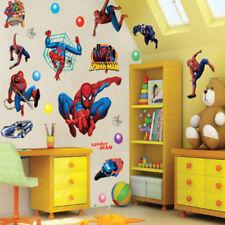 Super Spider-Man Autocollant Mural Décor Décalques pour les enfants Nurserie