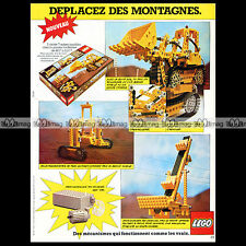 LEGO 'Bulldozer 856' 1979 - Pub / Publicité / Original Advert Ad #A1046