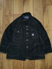 "Junya Watanabe X Post Overalls Denim Oversized Jacket Small but 23"" across RARE"