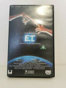 E.T. The Extra Terrestrial VHS Video Tape 1982 Original Steven Spielberg - 80's