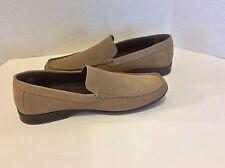 ALFANI Splash Brown Suede Loafers SlipOn Mocs Mens Casual Shoes Size 12M Defect