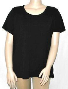 Isaac Mizrahi Live! Essentials Pima Cotton Scoop Neck T-Shirt  3X A379429
