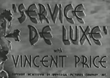 SERVICE DE LUXE 1938 (DVD) CONSTANCE BENNETT, VINCENT PRICE, CHARLES RUGGLES