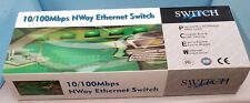 NWAY Ethernet Switch 24 port 10100 Rack Mountable Silver color