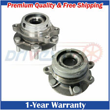 Set of 2 Front Wheel Hubs & Bearings Pair Fit Nissan Murano Quest w/ABS
