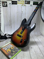 Guitar Hero Red Octane 95457Sunburst Controller Xbox 360 W Legends of Rock