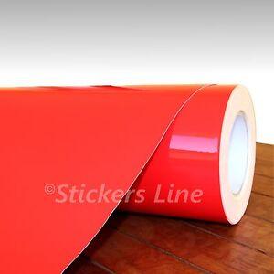 Pellicola ROSSO LUCIDO cm 37x50 adesivo CAST car wrapping auto moto red film