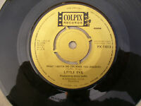 LITTLE EVA WHAT I GOTTA DO TO MAKE YOU JEALOUS / TROUBLE WITH BOYS colpix 11013