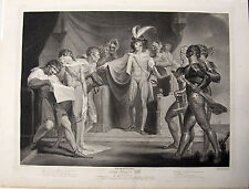 Boydell Shakespeare: King Henry the Fifth, 1798; Henry Fuselii & Robert Thew