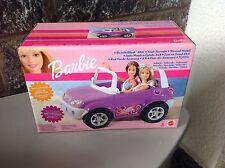 2002# Barbie Beach Blast Suv 4X4 Buggy#Nib 67385