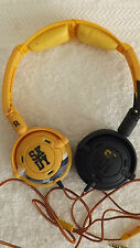 Lowrider On Ear Headphones with Mic Dark BLUE & YELLOW