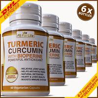 360 PILLS TURMERIC BLACK PEPPER TUMERIC STRONGEST 95% PURE CURCUMIN ANTIOXIDANT