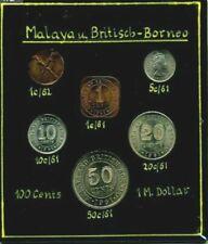 Malaya British Borneo 1961 & Malaysia 1968 Early Private Mint Sets. SCARCE.