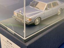 Neo 1:43 Rolls Royce Silver Spirit Spur Very Rare Neu Nie Ausgepackt Blue Blau