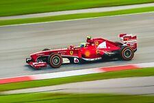 Ferrari F1 Formula One Automotive Car Wall Art Giclee Canvas Print Photo (222)