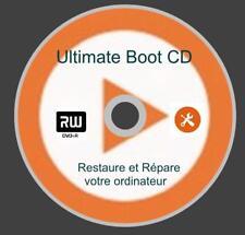 Ultimate Boot CD, Dépannage, Récupération de votre Ordinateur - DVD