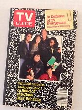 Tv Guide Magazine Head Of The Class Behavior July 9-15 1988 021917RH