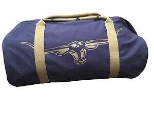 RM Williams Canvas Overnight Bag