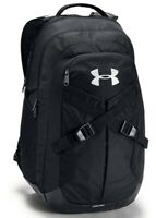 Under Armour Recruit 2.0 Backpack, Black/Silver, One Size, Unisex, 006
