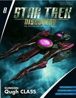 Star Trek Discovery - Klingon Qugh Class Die-cast Ship & Magazine #8 Eaglemoss