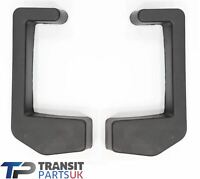 FORD TRANSIT 2000-2014 PICK UP CHASSIS TIPPER REAR BUMPER END CAP PAIR