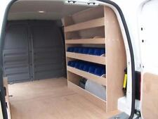 VW Caddy Maxi Van racking Plywood Shelving with storage bins
