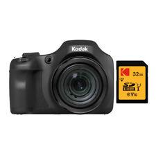 Kodak PIXPRO Astro Zoom AZ652 20MP Digital Camera Black with 64GB Card Bundle