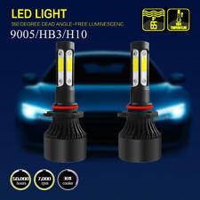 2pcs 9005 4 Side LED Headlight Bulb High Beam For 1987-1990 Chevrolet Caprice