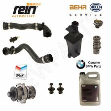 BMW 3 Series E46 Cooling System Kit Water Pump Thermostat Radiator Hose OEM