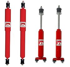 NEW!  1971-1973 Ford Mustang Gas Charged shock shocks Front and Rear Set of 4