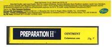 TWO PREPARATION H OINTMENT CANADIAN TYPE Bio-Dyne-Shark oil 2x25gr,Eyes,Hemorrho