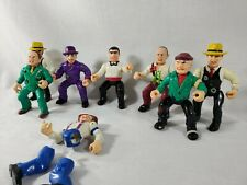 1990 Playmates Dick Tracy Coppers and Gangsters Action Figure Lot (x9)