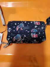 Vera Bradley RFID All in One Crossbody Holiday Owls NWT