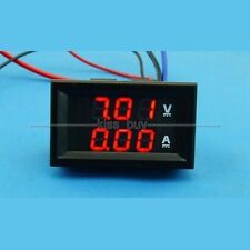 DC 100V/20A Ammeter Voltmeter Digital LED Dual display Amp Volt Meter 12V 24V