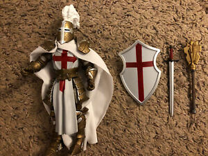 Mythic Legions Four Horsemen Sir Gideon Templar Knight Figure.