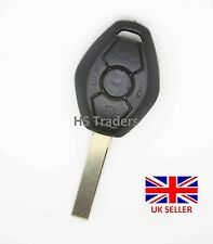 For BMW 3 5 X series 3 BUTTON REMOTE KEY FOB case with blank blade HU92R A58