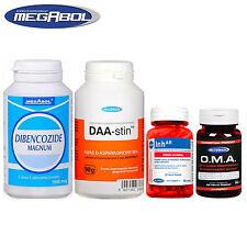 Dibencozide 100Caps + DAA 90g + InhAR 60Caps + OMA 56 Caps Testosterone Booster