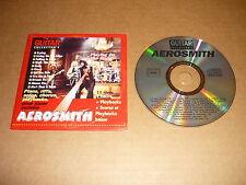 *GUITAR COLLECTOR  CD SINGLE FRANCE POUR JOUER COMME AEROSMITH