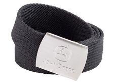 Genuine John Deere Black Fabric Work Belt MCS908072000 Trousers Jeans Farm