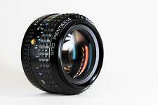 PENTAX  A  - SMC 50mm f1.4 - PENTAX PK mount -  COME NUOVO - NEAR MINT - VINTAGE
