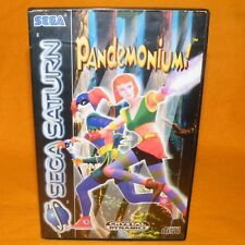 VINTAGE 1997 SEGA SATURN PANDEMONIUM! VIDEO GAME PAL & FRENCH SECAM VERSION
