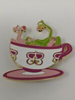 Mad Tea Party Flamingos And Headgehog WDI Walt Disney Imagineering LE250 Pin