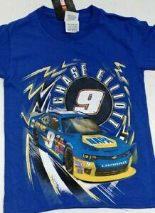 Nascar Youth Chase Elliott Napa Racing T- Shirt # 9 JR Motorsports Xfinity - XS